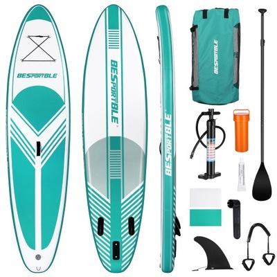 Deska surfingowa BESPORTBLE nadmuchiwana SUP
