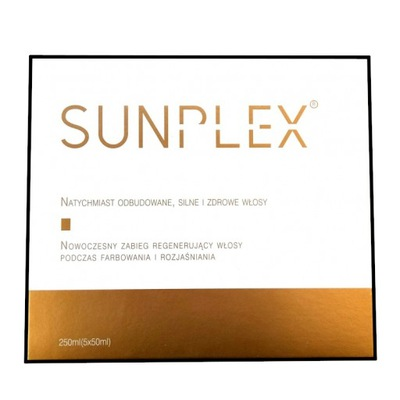 Sunplex zabieg regeneracyjny 250ml (5x50ml)