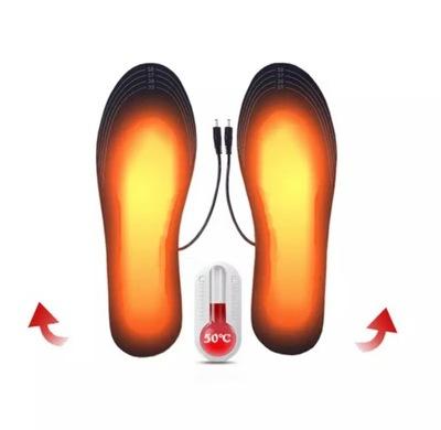 Podgrzewane wkładki do butów usb 35-44