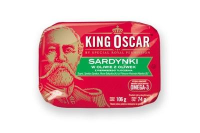 Оскар сардина в оливковом масле 106g