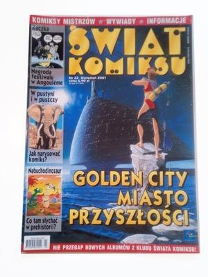 ŚWIAT KOMIKSU nr 22/2001