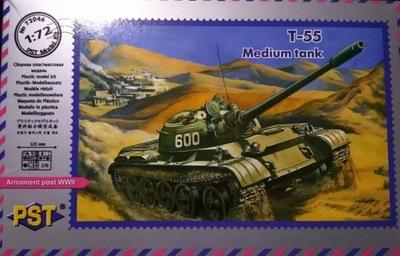 czołg średni T-55 - 1/72 PST