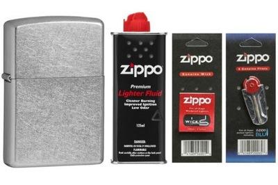 WROCŁAW zapalniczka Zippo 207 + zestaw benz,kno,ka