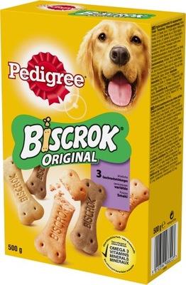 RODOKMEŇ Biscrok sušienky pre psov 500g x12