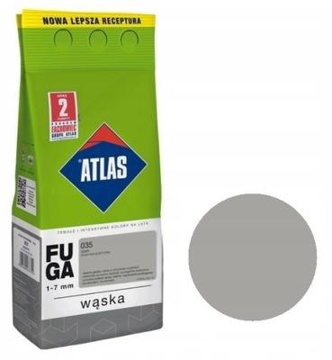 Атлас - FUGA узкая 5кг - 035 Серый - 1 -7мм