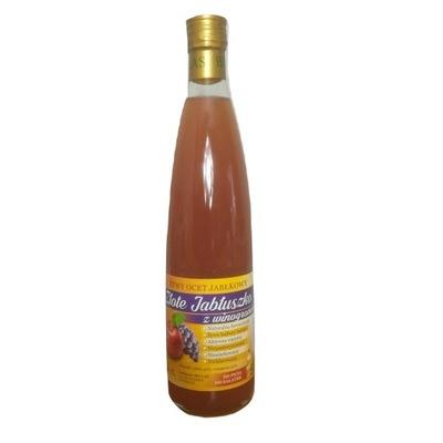 живой Уксус Яблочный с виноградом, 700 мл натуральный