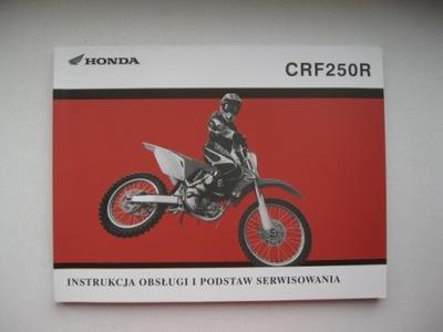 MANUAL MANTENIMIENTO CRF250R/RX