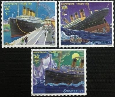 Сомали 1998 Мне 722-24  Корабль Титаник