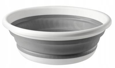 миска складная силиконовая, емкость 9л