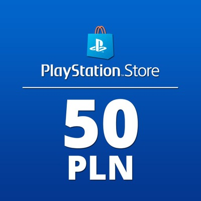PLAYSTATION NETWORK 50 PLN ZŁ PSN KOD PS4 PS5