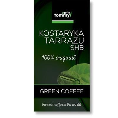 зеленый кофе Рики, коста-рика SHB