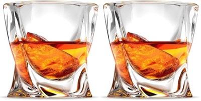 Kryształowe szklanki whisky Bohemia Quadro kpl.6sz