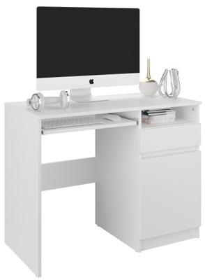Мебель компьютерный стол стол 96см белое N35