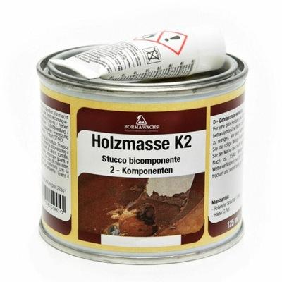 Szpachla Do Drewna/Holzmasse K2 /750ml/CZARNA