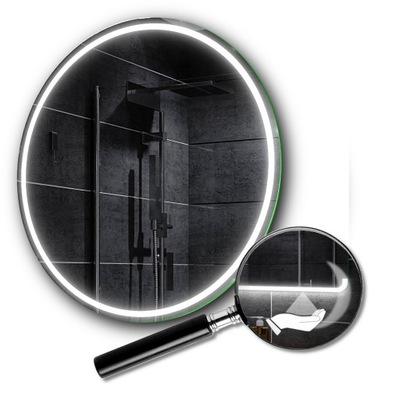 Okrúhle LED zrkadlo 40 cm spínač snímača pohybu