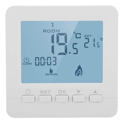 Digitálny týždenný termostat teplotného snímača