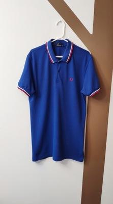 Polówka/Koszulka Polo M Niebieska FRED PERRY
