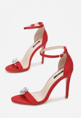 Czerwone Sandały 37