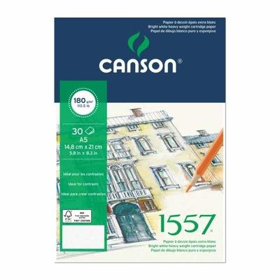 Blok 1557 180g 30k A4 21x29,7cm Canson
