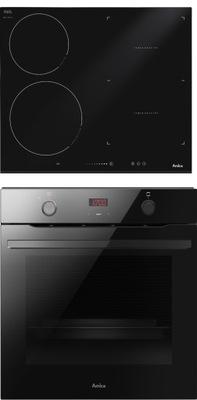 комплект Amica Духовки ED37614B+ плита индукционная
