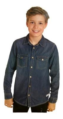 Koszula jeansowa dżins jeans TAKE IT EASY *146