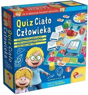 Gra Im a Genius Quiz - Ciało człowieka PL67794