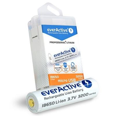 akumulator 18650 everActive 3200mAh Li-ion 3.7V