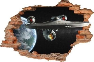 Nálepky na stenu, Star Trek, 3D priestor