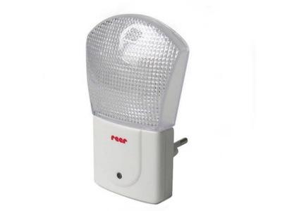 Lampka nocna LED z czujnikiem, moc: 0.5W 230V REER