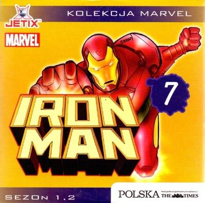 Iron Man. Sezon 1, 2, płyta 7. Kolekcja Marvel.