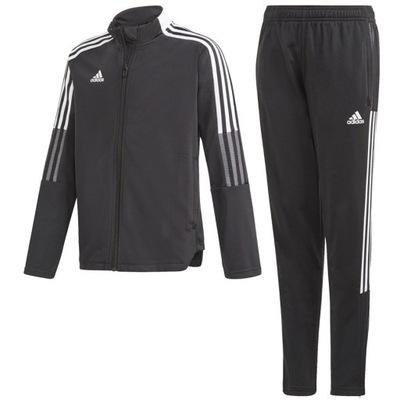 DRES piłkarski,bluza,spodnie Adidas Tiro Jr 152 cm