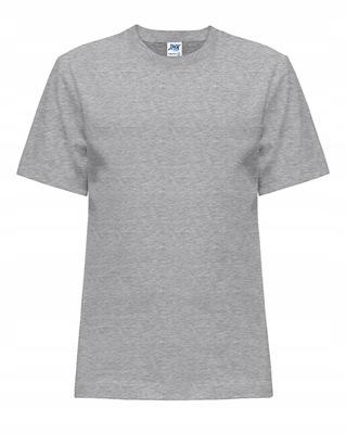 T-SHIRT DZIECIĘCY koszulka JHK szara 9-11 GM 140