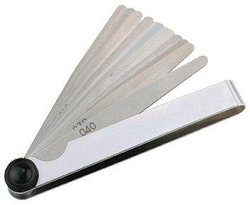 Szczelinomierz 0,05-2 mm 21 szt. PROMAT 3512010021