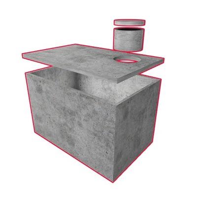 бетонный резервуар на дождевую воду септик септик воду