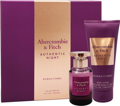 Abercrombie Fitch Authentic Night 50ml + Balsam
