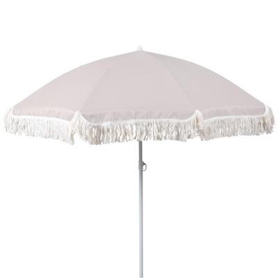 Dáždnik parasol 180 cm nastaviteľné SIVÁ