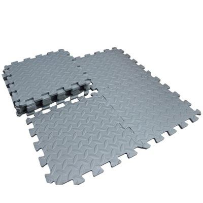 4x hrubá PUZZLE podložka pre vybavenie telocvične