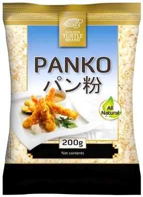 Панировочные сухари panko, большие толстые platky 200г