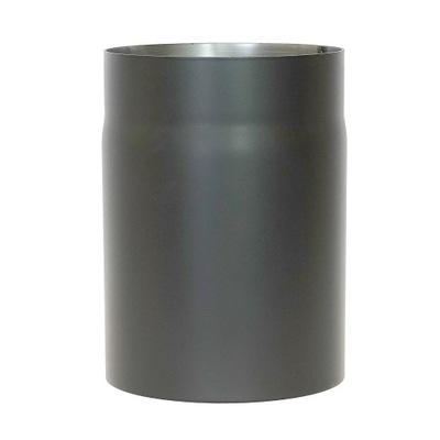 Potrubie pre pec na dymovod 500mm čierne 2mm fi250