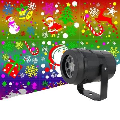 Projektor Swiateczny Laserowy 16 Wzorow 12w Pilot 8600029670 Oficjalne Archiwum Allegro