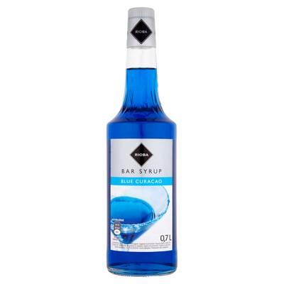 сироп барменский для напиткам Ноль .7л BLUE CURACAO