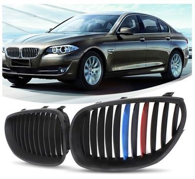 РЕШЁТКА РЕШЁТКА РЕШЕТКА NERKI BMW E60 E61 BLACK SHADOW