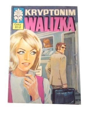 KAPITAN ŻBIK KRYPTONIM WALIZKA wyd. 1 1974 r.