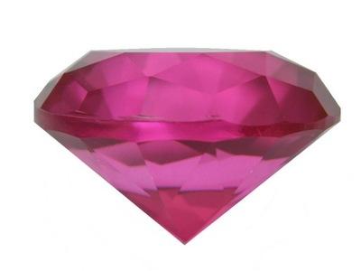 Mały diament - różowy a - Feng Shui