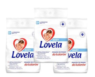 Lovela Proszek Baby 3x 4,1 kg / 123 pr Kolor