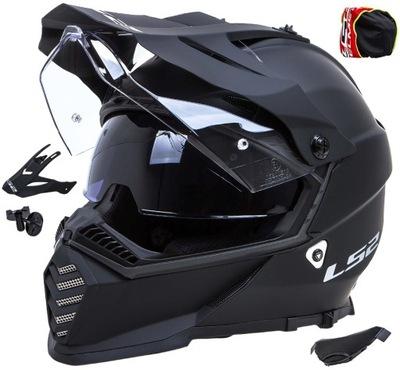 KASK MOTOCYKLOWY LS2 MX436 PIONEER MAT OFFROAD L