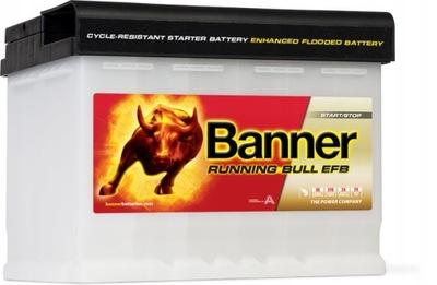 BANNER RUNNING BULL EFB 560 11 60Ah 560A