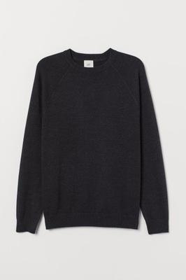 sweter męski 100% bawełna H&M S 170 R71