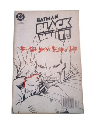 BATMAN BLACK and WHITE 1/97