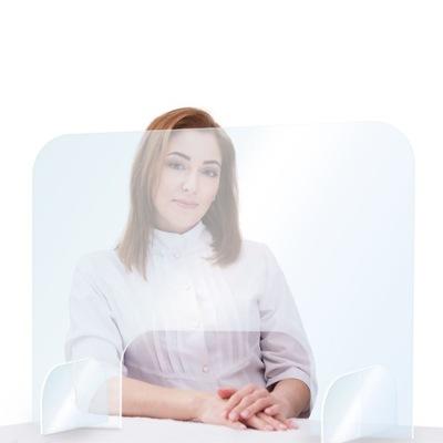 Szyba ochronna Pleksi dla kosmetyczki 80x60 cm